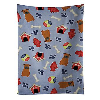 Dog House Collection Chinese Chongqing Dog Kitchen Towel