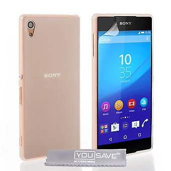Yousave Sony Xperia Z3Plus Etui en Gel Silicone - clair