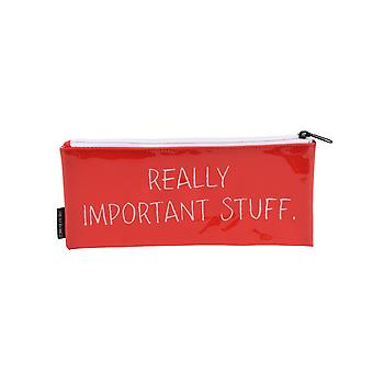 CGB Giftware Strictly Business Important Stuff Pencil Case