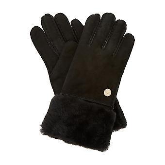 Dune CBX_PATRICIA90 gant de peau de mouton noir