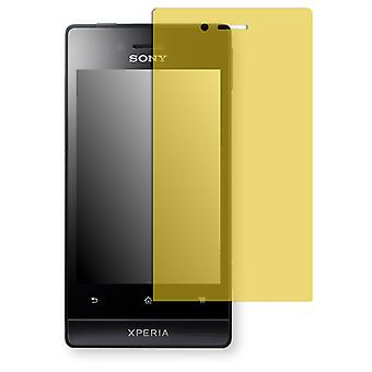 Sony Xperia ST23 display protector - Golebo view protective film protective film