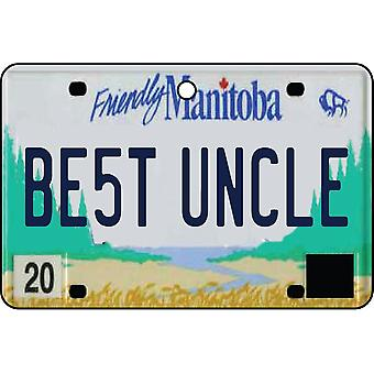 MANITOBA - Best Uncle License Plate Car Air Freshener