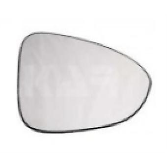 Right Stick-On Mirror Glass for Opel ZAFIRA 2011-2017