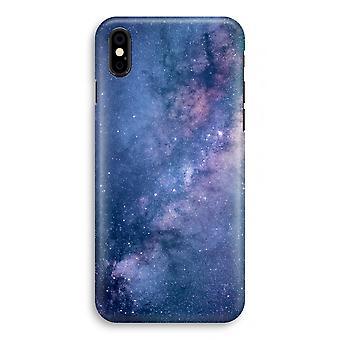caso del iPhone X completo impresión - nebulosa