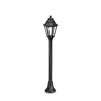 Ideal Lux Anna Resin Pathway Lantern Light With 6 Sided Lantern, Black