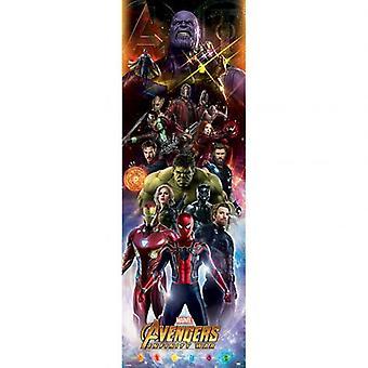 Avengers Door Poster Infinity War 308