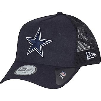 Nouvelle ère réglable Trucker Cap - HEATHER Cowboys de Dallas