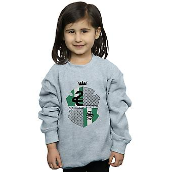 Harry Potter Girls Slytherin Shield Sweatshirt