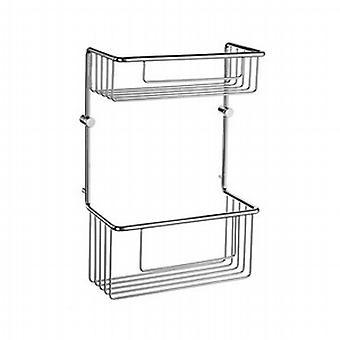 Sideline Soap Basket Straight 2 Level DK1031