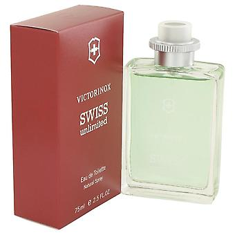 Swiss Unlimited Eau De Toilette Spray von Victorinox