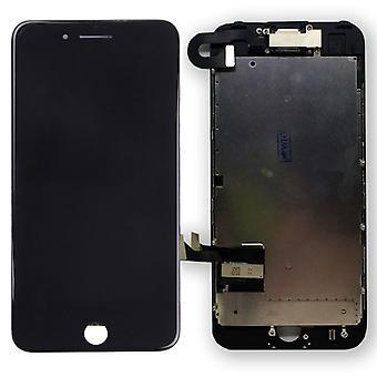 All in One Display LCD Komplett Einheit Touch Panel für Apple iPhone 7 4.7 Zoll Schwarz Vormontiert