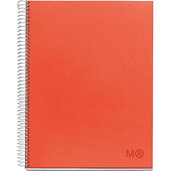Candy Colors Spiral-Bound Ruled Notebook 8.5