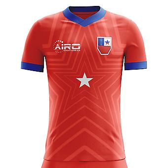 2018-2019 Chile Home Concept Football Shirt (Kids)