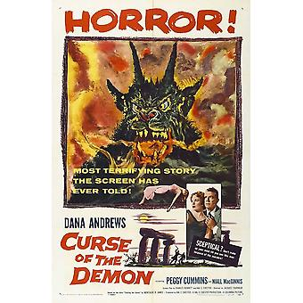Night of the Demon Movie Poster (11 x 17)