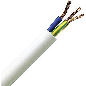 Flexible cable H05VV5-F 3 G 1.50 mm² White Kopp