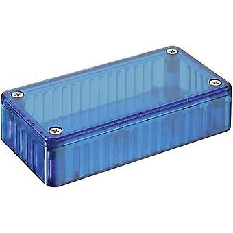 Hammond elektronica 1591 CTBU universele behuizing 120 x 65 x 40 polycarbonaat (PC) blauwe 1 PC('s)