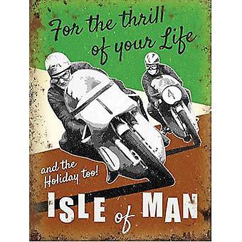Isle Of Man Fridge Magnet