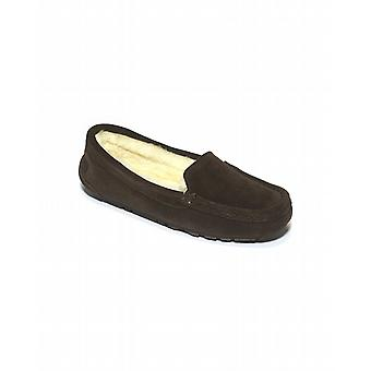 Ladies Sheepskin Loafer - Mocca