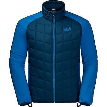 Jack Wolfskin Mens Grassland Hybrid Windproof Softshell Jacket Coat