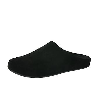 Mens FitFlop Shove Mule Suede Slippers