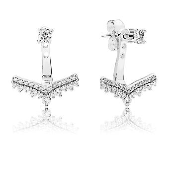 PANDORA Princess Wish Earrings - 297739CZ
