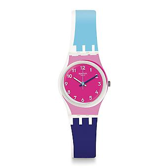 Swatch Lw166 Attraverso Multi Colour Silicone Watch