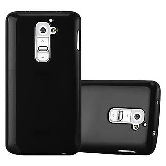 Cadorabo Hülle für LG G2 - Handyhülle aus TPU Silikon im Jelly Design - Silikonhülle Schutzhülle Ultra Slim Soft Back Cover Case Bumper