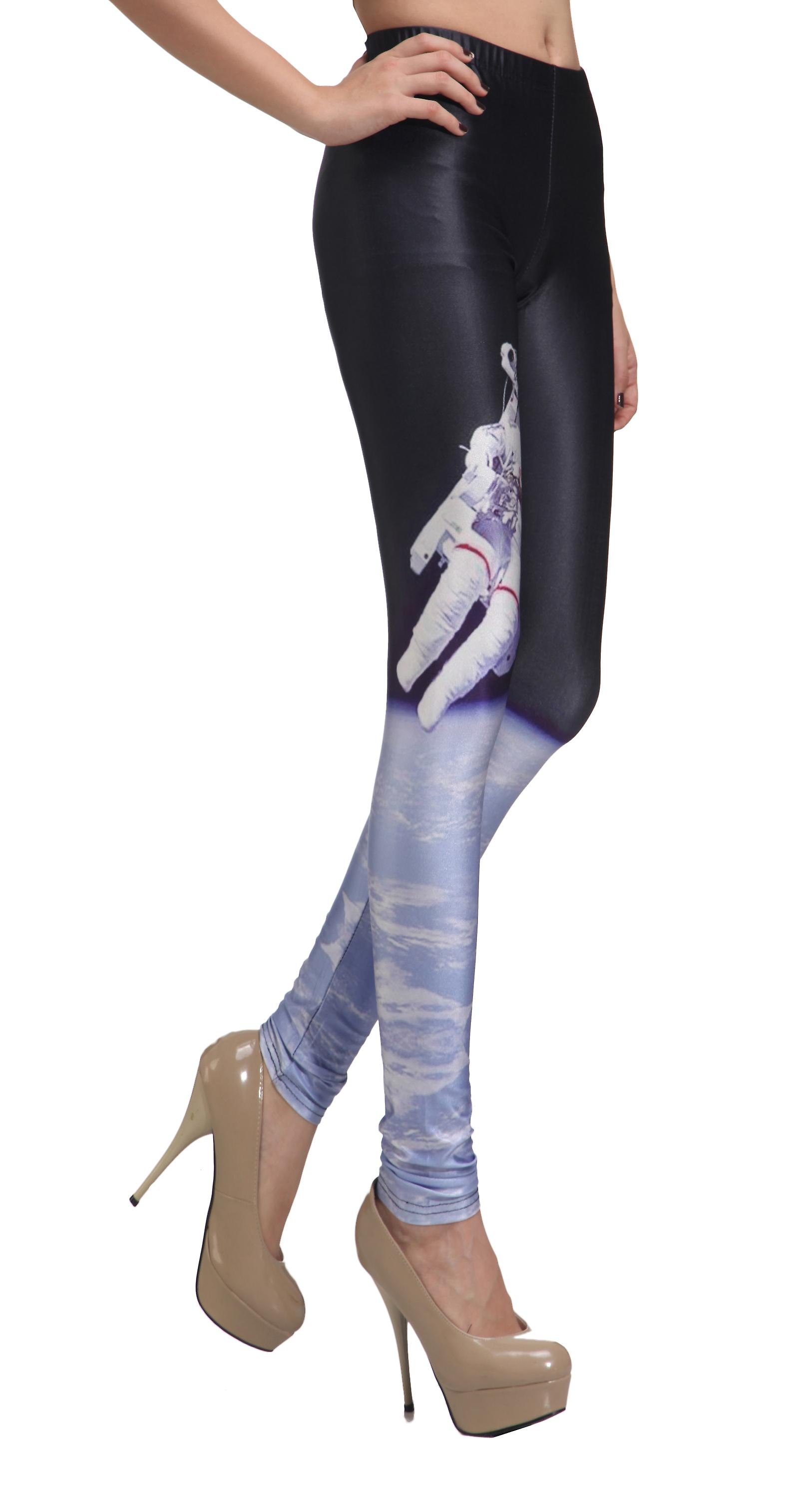 Waooh - Fashion - Legging space and astronaut motif