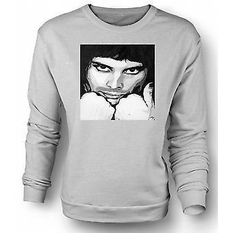 Mens Sweatshirt Freddie Mercury Queen - Pop Art