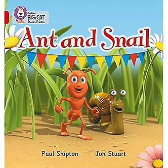 Ant and Snail: Red A/Band 2A (Collins Big Cat Phonics)