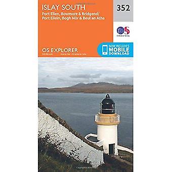 Sul de Islay Explorer OS mapa (352)
