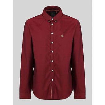 Luke 1977 Cuffys Call Dark Red Shirt