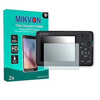 Canon PowerShot SD940 IS Screen Protector - Mikvon Clear (Retail Package con accessori)