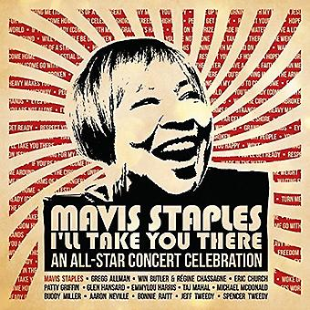 Various Artist - Mavis Staples I'Ll Take You There: All-Star [CD] USA import