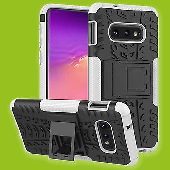 Per Samsung Galaxy S10e / pezzo di S10 Lite G970F 5,8 pollici ibrido caso 2 SWL all'aperto bianco borsa custodia cover protezione