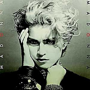 Madonna 1st LP Cover steel fridge magnet (cv)