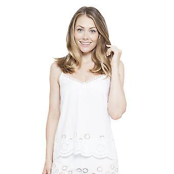 Cyberjammies 4141 vrouw Ella White pyjama's Top