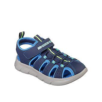 Skechers Cflex Sandale 97810NNVBL universal Sommer Kleinkinder Schuhe