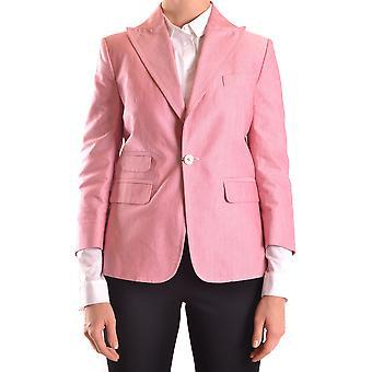 Dsquared2 Pink Cotton Blazer