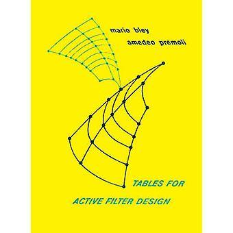 Tables for Active Filter Design Based on Cauer MCPER Functions by Biey & Mario