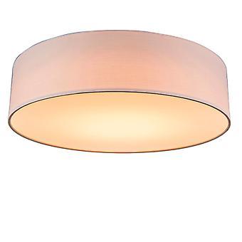QAZQA Ceiling Lamp Drum LED 40 Rose