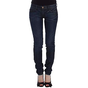 Ermanno Scervino Blue Slim Jeans Denim Pants Skinny Leg Stretch -- SIG1165317