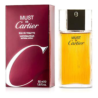 Must De Cartier Eau De Toilette Spray 50ml/1.7oz