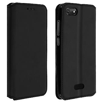 Slim Case, Classic Edition stand case with card slot for Wiko Harry 2 - Black