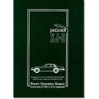 Jaguar XJ-S 3.6 and 5.3 Parts Catalogue Jan 1987 on RTC 9900CA by R.