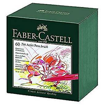 Faber-Castell Pitt Artist Pen Gift Box of 60 Colours (FC-167150)