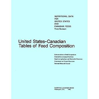 United States-Canadian Tables of Feed Composition:� Nutritional Data for United States and Canadian Feeds, Third Revision