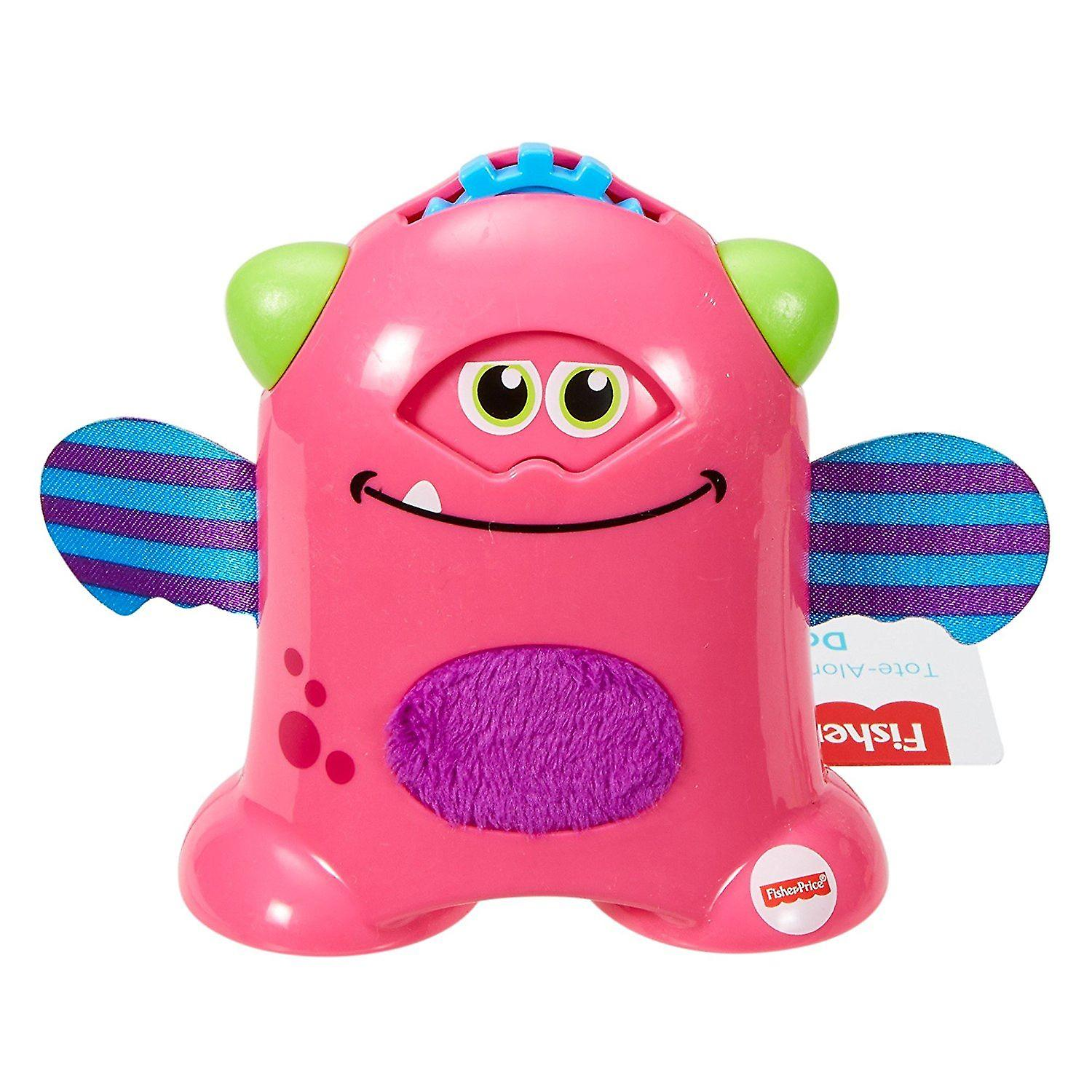 Fisher Price Mini Monster Tote Along Monsters - Pink