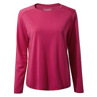 Craghoppers Womens 1st Layer Long Sleeve Insulated T Shirt