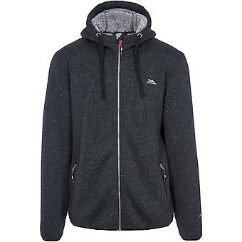 Trespass mens Tableypipe AT500 Airtrap Hooded fleece jas